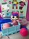 Набор Кукла LOL + поезд с рельсами и аксессуары в шариках (3 серия), фото 5