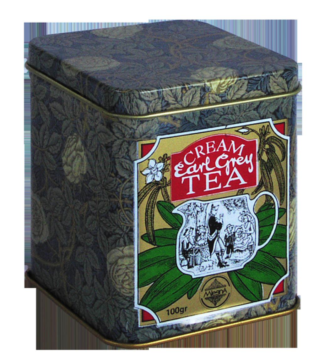 Черный чай Эрл Грей Сливки, EARL GREY CREAM BLACK TEA, Млесна (Mlesna) 100г.