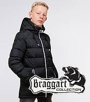 Braggart Kids   Зимняя детская куртка 60455 графит