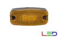 Фонарь габаритный на прицеп светодиодный Желтый 24v LED MARS