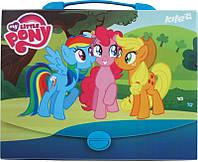 Портфель-папка на застежке А4 KITE 2105 My Little Pony 209