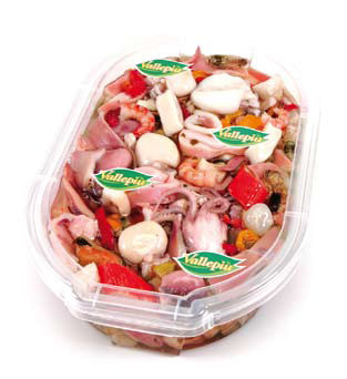 Салат з морепродуктів Insalata di Mare Vallepiu, 1 кг.