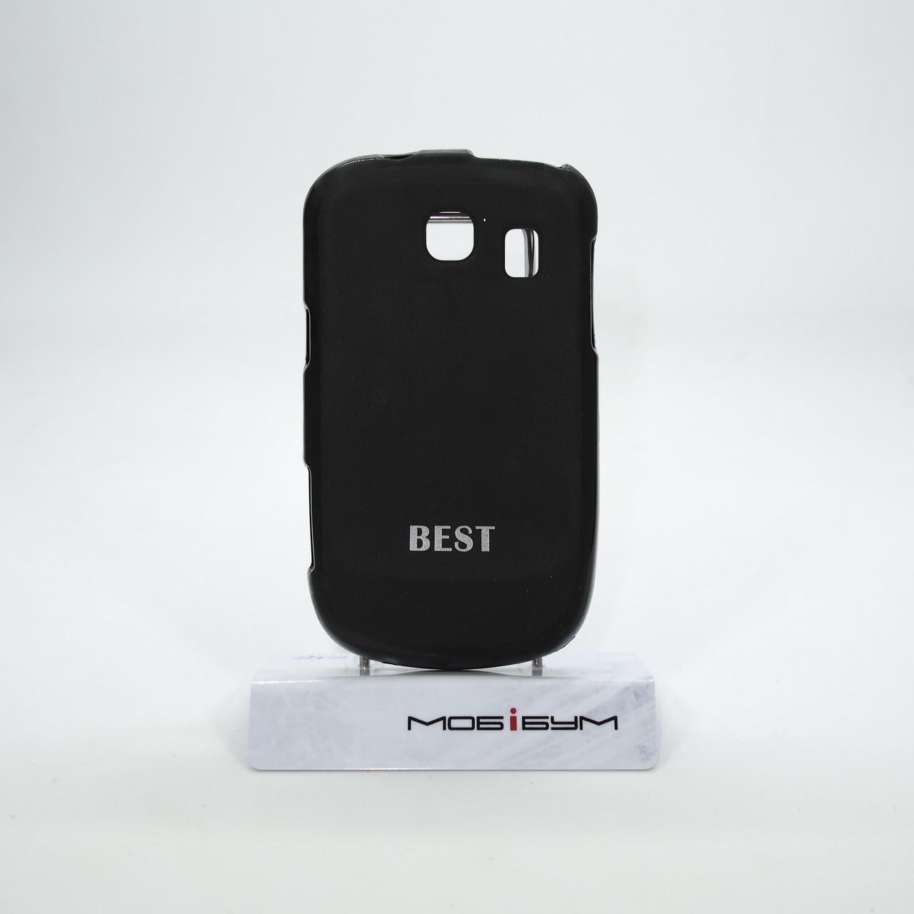 Чехол Silicon Best Samsung S3850 black