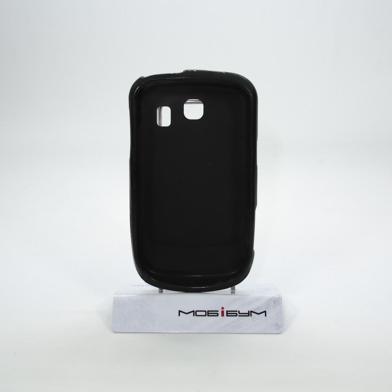 Чехол Silicon Best Samsung S3850 black Galaxy Corby II (S3850) Для телефона