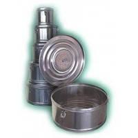 Коробка стерилизационная круглая с фильтром КСКФ-3 Биомед