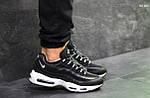 Кроссовки Nike 95 (черно/белые), фото 2