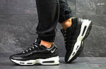 Кроссовки Nike 95 (черно/белые), фото 3