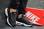 Кроссовки Nike 95 (черно/белые), фото 5