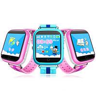 Умные детские часы Smart Baby Watch Q100 с GPS трекером, фото 3