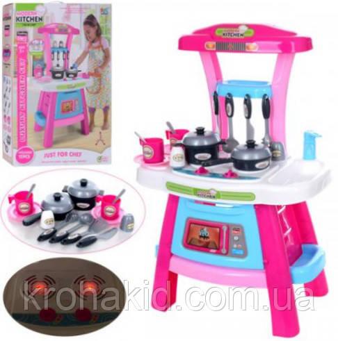 Детская кухня 16694В ( посуда, плита, световые и звуковые эффекты) размер 42-28-62,5 см