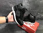 Зимние ботинки Nike Air (черно/белые) ЗИМА, фото 4