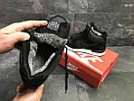 Зимние ботинки Nike Air (черно/белые) ЗИМА, фото 2