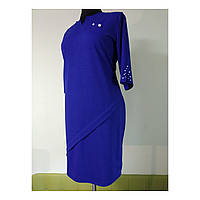 Женское платье больших размеров осенее нарядное 54 ( 52, 56, 58, 60 ) батал для полных женщин №0362