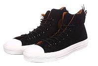 Мужские кеды Converse High Black Suede размер 42 114899-42 955d8112f4671
