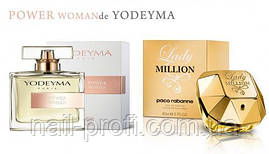 Парфюмированная вода Power Woman  YODEYMA 100ML (идентична Lady Million Paco Rabanne )