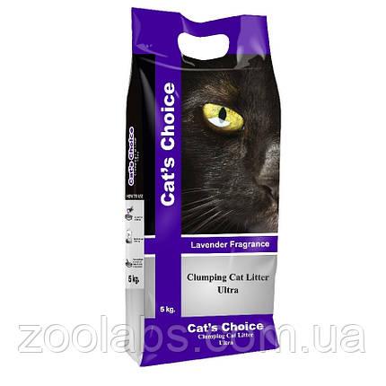 Наполнитель туалета для котов и кошек Indian Cat Litter Cat's Choice Lavender 5 кг (лаванда), фото 2