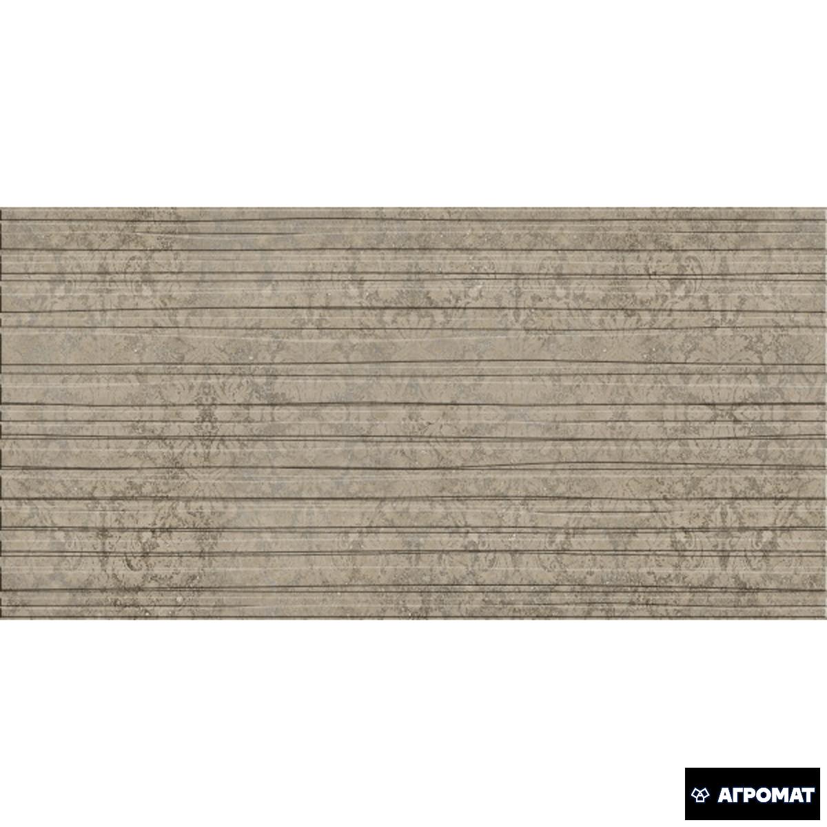 Плитка Берёзакерамика Шафран декор ШАФРАН коричневый арт.(392389)