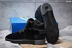 Зимние ботинки Adidas Tubular Invader Strap (черные) ЗИМА, фото 3
