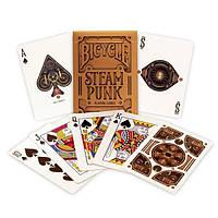 Карты для игры в покер USPCC Bicycle Steampunk Bronze, КОД: 258499