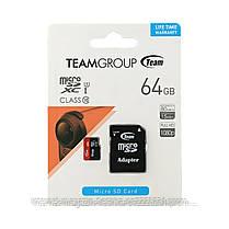 Карта памяти TeamGroup micro SDXC class 10