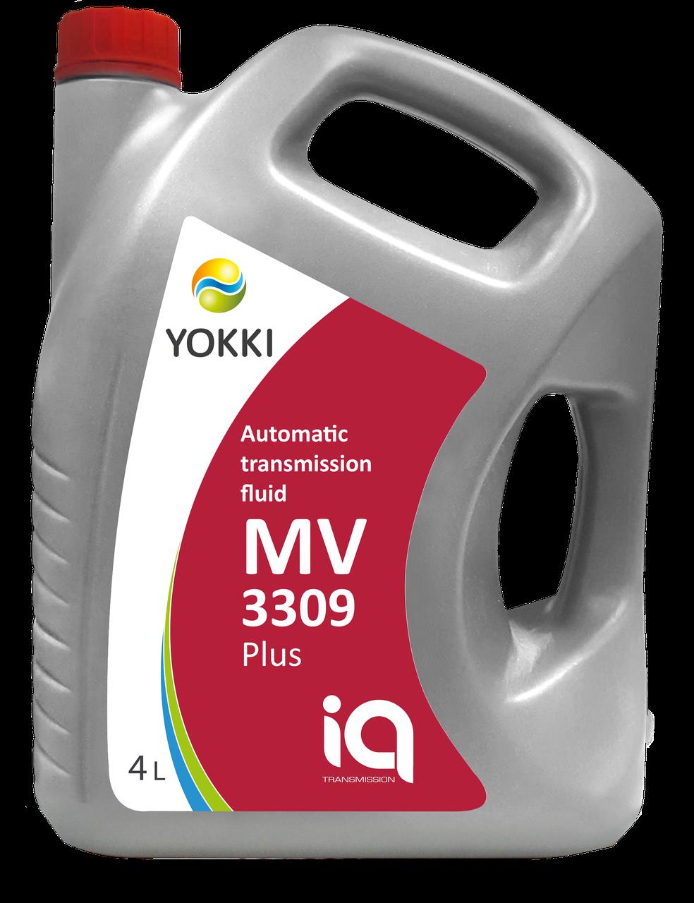 Рідина для АКПП YOKKI IQ ATF MV 3309plus 4 л