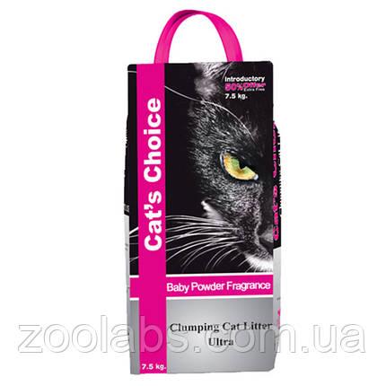 Наполнитель туалета для котов и кошек Indian Cat Litter Cat's Choice Baby Powde 5 кг (детская пудра), фото 2