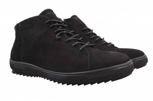 Ботинки Falcon нубук, цвет черный