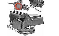 Тиски слесарные поворотные GEKO 200 мм