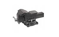 Тиски слесарные поворотные YATO YT-6503 150 мм с наковальней