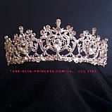 Корона для девочки под серебро,  высота 5 см., фото 2