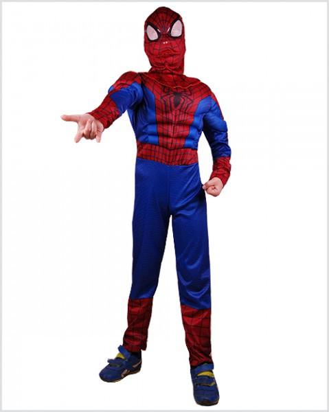 Детский яркий карнавальный костюм Человека-паука