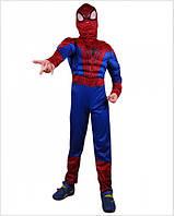 Детский яркий карнавальный костюм Человека-паука, фото 1
