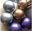 """Неймовірно красиві повітряні кулі bobo babbles Chrome баблс хром синій 18"""" 45 см, фото 5"""