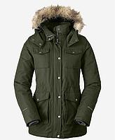 Куртка Eddie Bauer Women Westbridge Parka DK LODEN M Зеленая (3775DL-M)