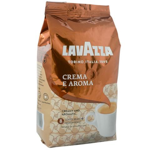 Кофе в зернах Lavazza Espresso Crema e Aroma 1кг Коричневая. Лавацца, Италия!
