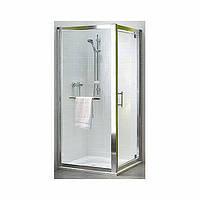 Боковая стена KOLO GEO 6 80 с релингом , стекло прозрачное