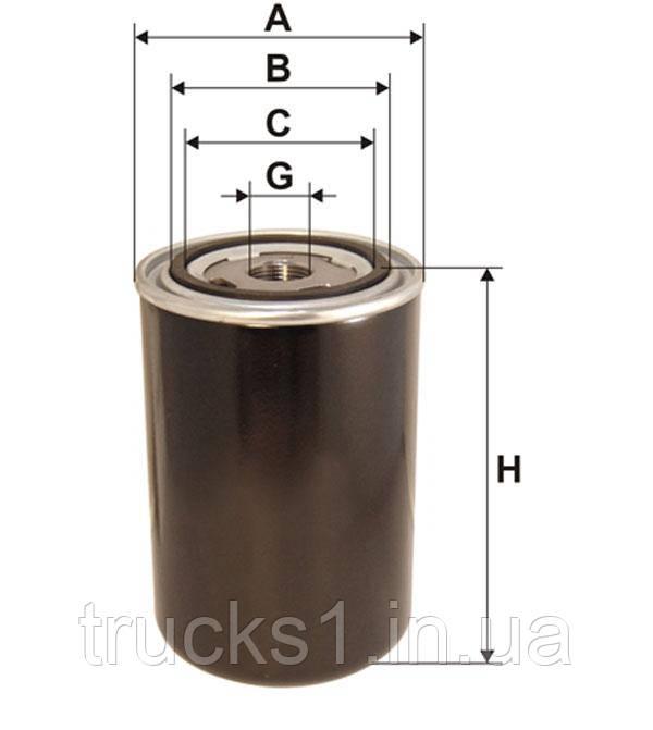 Фільтр паливний DAF 95035E (WIX)