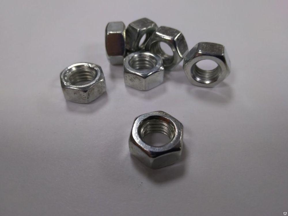 Гайка М3 ГОСТ 5915-70, ISO 4032, DIN 934, класс прочности 6.0
