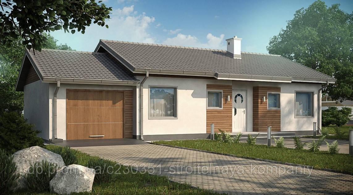 Проект дома uskd-38