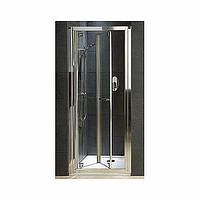 Душевая дверь KOLO GEO 6 90, ПРОЗРАЧНОЕ СТЕКЛО REFLEX