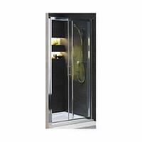 Душевая дверь 2-ЭЛЕМЕНТНАЯ РАЗДВИЖНАЯ GEO 6 100, ПРИЗМАТИЧЕСКОЕ СТЕКЛО