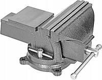Тиски слесарные поворотные Vise 200 мм с наковальней