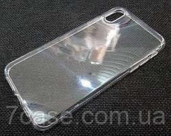 Чехол для OnePlus 5T силиконовый прозрачный с матовым ободком