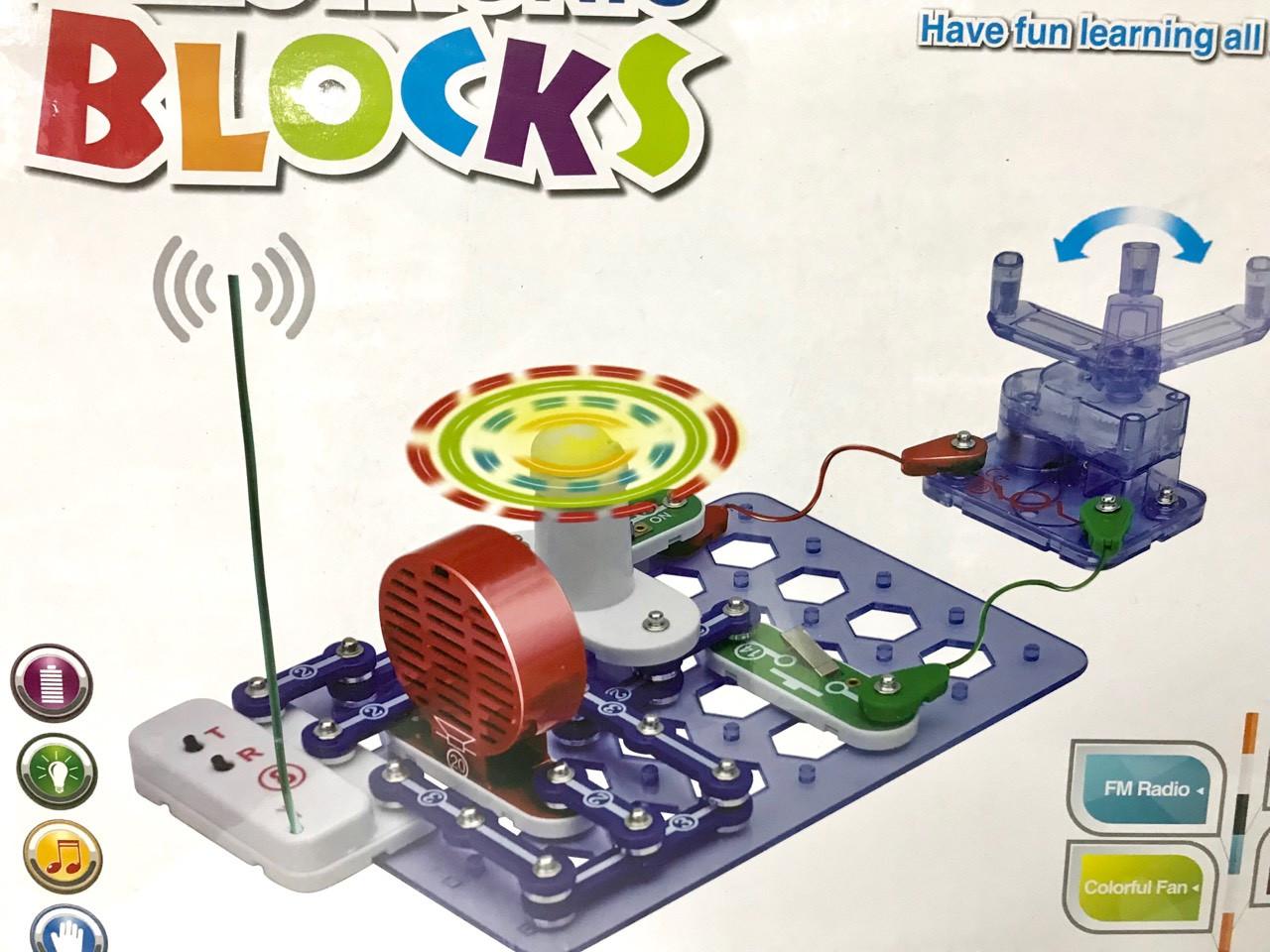 Электронный конструктор большой Electronic blocks