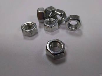 Гайка шестигранная М4 ГОСТ 5915-70, DIN 934, фото 2