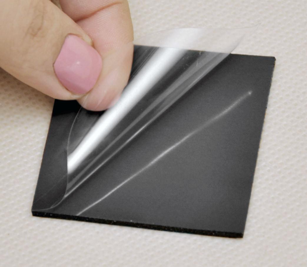 Термопрокладка 3KS 3K600 BK24 1.0 мм 50x50 чорна 6 Вт/(м*К) термоінтерфейс для ноутбука (TPr-3K6W-BK24)