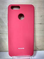Силиконовый матовый чехол Soft Case Rose Red Honor 7X (BND-L21)