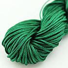Шнур Нейлоновый, Цвет: Темно-зеленый, Размер: Диаметр 1мм, около 24м/связка, (УТ000004545)