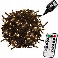 Гирлянда 400 LED 40м + пульт дистанционного управления