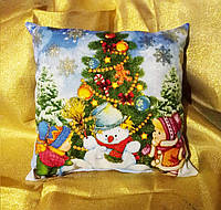 Необыкновенная новогодняя подушка-светяшка 2019!!!, фото 1